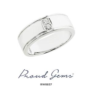 8837RW W 300x300 - แหวนผู้ชาย  RW8837