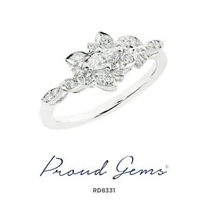 8331RD W 300x300 - แหวนเพชร  RD8331