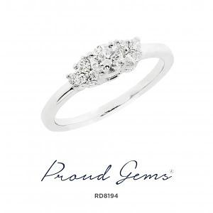 8194RD W 300x300 - แหวนเพชร  RD8194