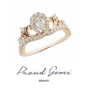 8431RD W 300x300 - แหวนเพชร  RD8431