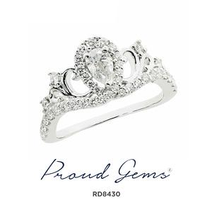 8430RD W 300x300 - แหวนเพชร  RD8430