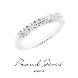 8037RD W 300x300 - แหวนเพชร  RD8037