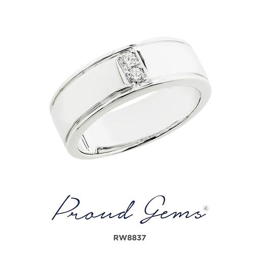 8837RW W 510x510 - แหวนผู้ชาย  RW8837