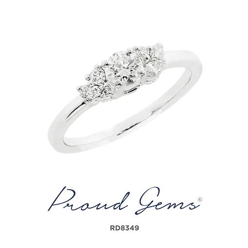 8349RD W scaled 510x510 - แหวนเพชร  RD8349